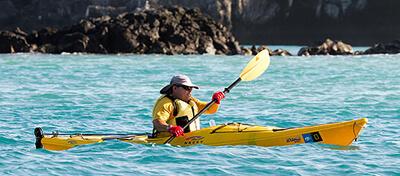 Kayaking in Galapagos Islands