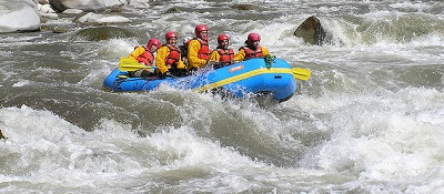 river rafting 3 days