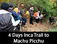 Inca Trail to Machu Picchu in 4 days