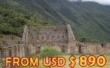 Machu Picchu by motorcycle and 4x4 tours