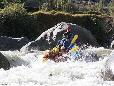 Chili Rafting Tour in Arequipa