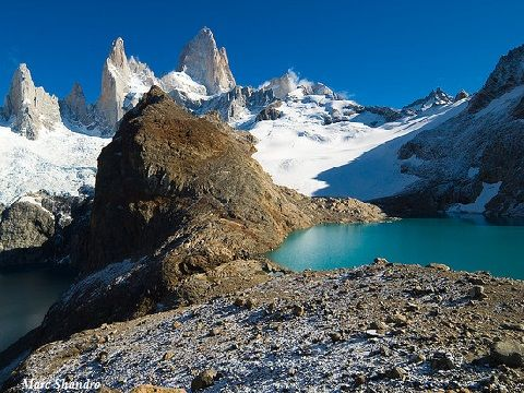 Argentina Fitz Roy The 3 Lagoon