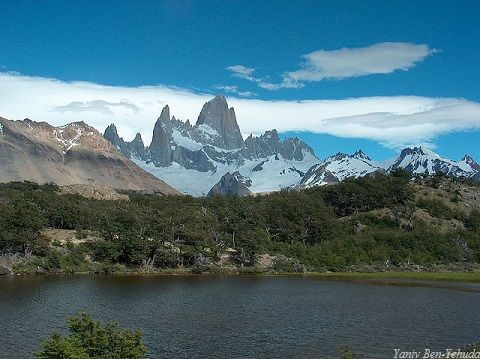 Argentina Fitz Roy Mountain