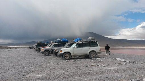 Bolivia Sol de Mañana Geysers