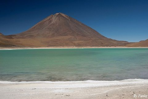 Bolivia Green Lake