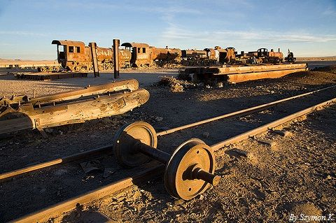 Trains Cementery