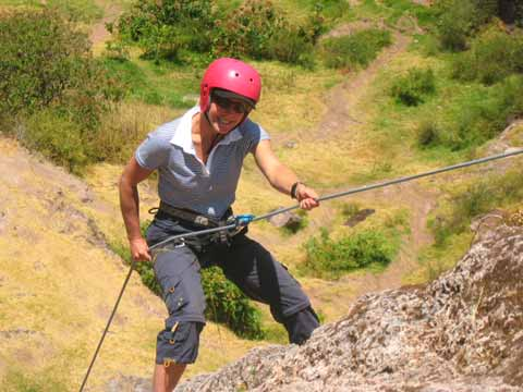 Rock Climbing Cusco