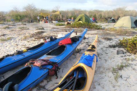 Kayaking Galapagos