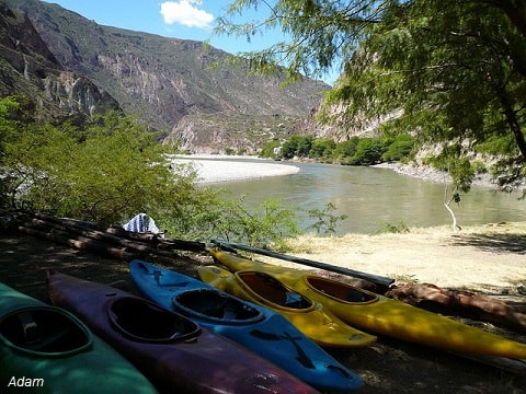Apurimac River kayaking course 3 days