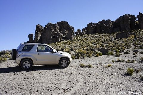 4x4 Tour Route Puno to Arequipa