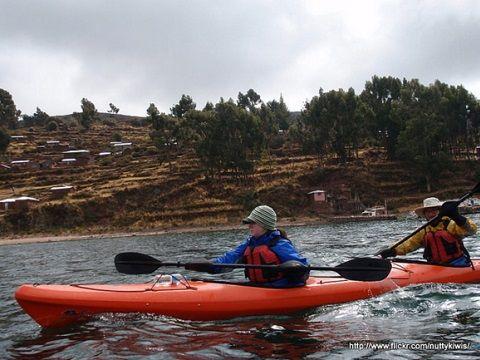 Titicaca Lake - Kayaking