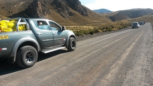 4x4 Tour Route to Puno